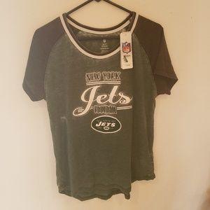 New York Jets T-shirt Teen Apparel XL